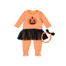 Girls Overalls for children Sliders Romper Halloween Baby Boy Clothes for Newborn Clothing 0-24 months cotton Long Sleeve suits
