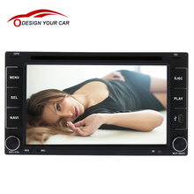 "Universal 6.2"" 2 Din Car DVD/USB/SD/MP4/MP5 AM/FM WIFI RDS Analog TV DVB-T ISDB-T Player 3D Voice GPS Navigation Bluetooth Radio"