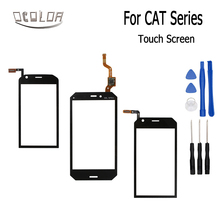 ocolor For Caterpillar CAT S30 S40 S50C Touch Screen Lens Sensor Touch Panel Replacement Mobile Accessories +Tools(China)
