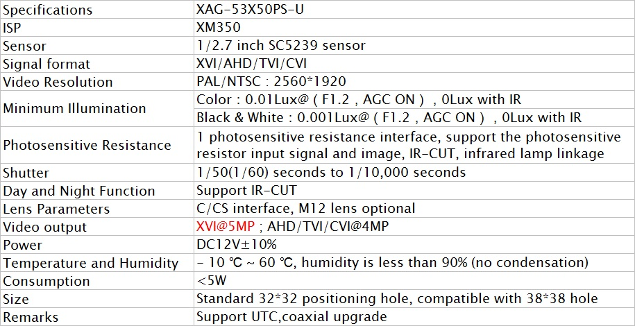 XAG53X50PS-U-4