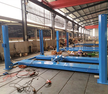 3.5t economical alignment car lift for wheel Positioning with second scissor lift and safety lock(China)