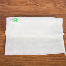 Home Practical Efficient Anti-grease Color Dish Cloth Bamboo Fiber Washing Towel Magic Kitchen Cleaning Wiping Rags Random Color