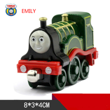 EMILY One Piece Diecast Metal Train Toy Thomas and Friends Megnetic Train The Tank Engine Toys For Children Kids Gifts