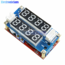 Max 5A Adjustable CC CV Step-Down Charge Module Digital Voltmeter Ammeter Display LED Driver for Arduino