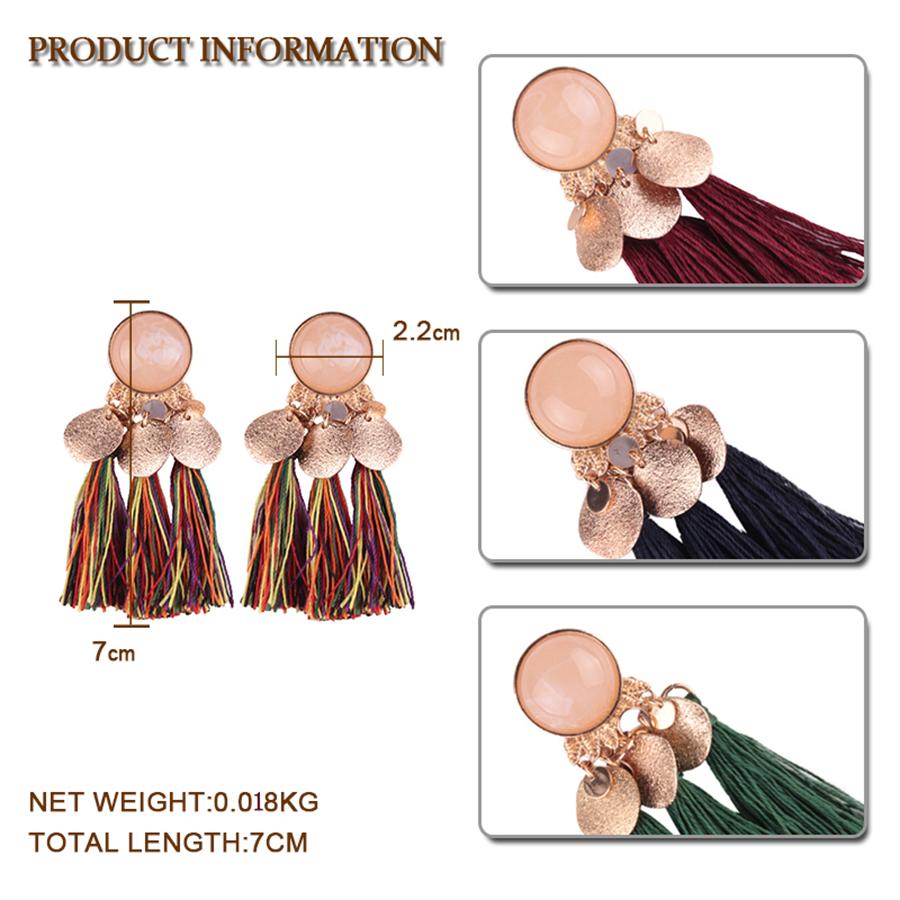 Best-lady-2017-New-Hot-Sale-Bohemian-Drop-Tassel-Earrings-for-Women-6-Colors-Fashion-Jewelry