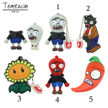 Plants vs. Zombies USB 3.0 Flash Drive 32GB Pen Drive 64GB 16GB USB3.0 Memory Stick USB Drive U Disk(China)
