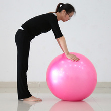 Exercise Yoga Ball Popular Multi-Use Burstproof PVC Gym Center iIndoor Use Trainning Fitness Balls 5 Colors 45cm Yoga Core Ball(China)
