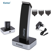 Kemei NEW Professional Electric Clipper Hair Trimmer Beard Rechargeable Haircut Hair Cutter Hair Cutting Machine For Men EU Plug