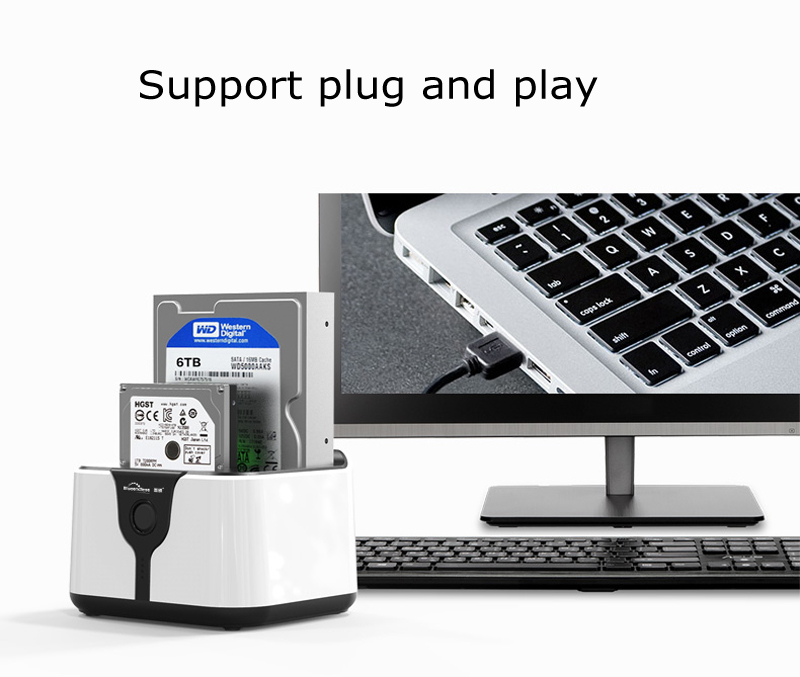HD05 hard disk docking station