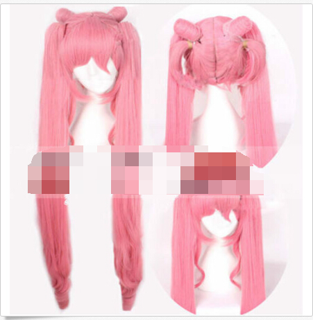 FREE SHIPPING ! ! ! Pink Sailor Moon Small Lady Cosplay Party Wig Hair  <br><br>Aliexpress