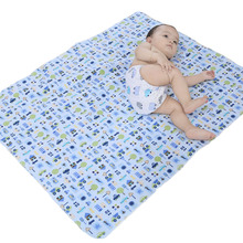 Baby Waterproof Pad Large Changing Pad Cotton Baby Urine Mat Baby Changing Table Bedding Waterproof Bed Sheets WMC1607