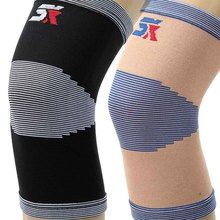 High Elastic Breathable Nylon Knee Support Knee Brace Pad Patella Guard for Basketball Volleyball Sports Protection Size M L XL(China)