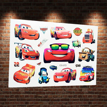 Rusteze Racing Car Flash Tattoo Sticker Kids ACG-072 Fake Waterproof Cartoon Automobile Temproary Tattoo Body Arm Vehicle Tatoos