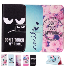 Painted Flip Case Wallet Leather Cover for iphone 4s 5 5s SE 6 6s 7 plus for Samsung galaxy S3 Duos i9300i S4 S5 Neo S6 S7 edge