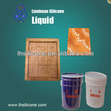 rtv2 liquid silicone rubber for architectural cement & concrete stone moulding & gypsum sculpture moulding