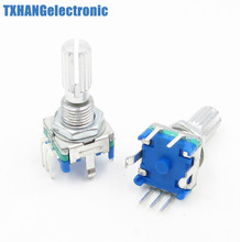 2pcs Rotary encoder with switch EC11 Audio digital potentiometer 20mm code switch(China)