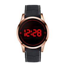 Fashion Men's Watches New LED Digital Touch Screen Day Date Silicone Sport Wrist Watch  relogio masculino Free Shipping#40