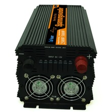 High efficient inverter 12V 220v pure sine wave power converter 2500w / 5000w Peak wired remote control solar inverter