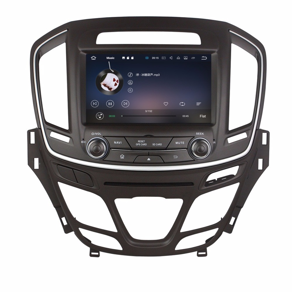 8″ Android 7.1 Car Radio DVD GPS Multimedia Head Unit for Opel INSIGNIA 2014 2015 With 2GB RAM Bluetooth WIFI USB Mirror-link