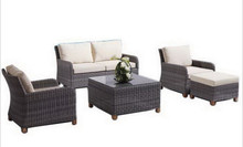 Sigma indoor outdoor furniture synthetic rattan set home living room sofas(China)
