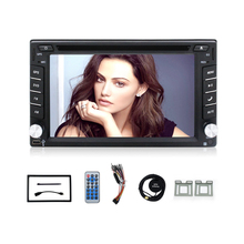 2din 100% New universal Car Radio Double 2 din Car DVD Player GPS Navigation In dash Car PC Stereo video+Free Map+Free Camera(China)