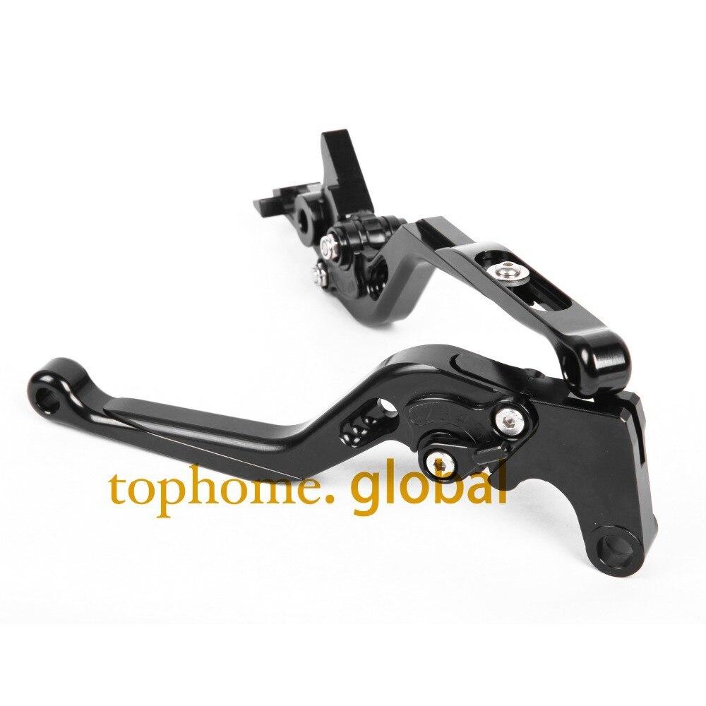 Motorcycle Accessories CNC Foldable&amp;Extendable Brake Clutch Levers Black Color For KTM Duke 125 Duke 200 2012-2015<br>