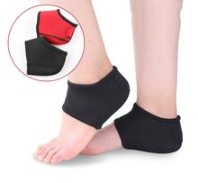 LumiParty 2pcs Foot Heel Ankle Wrap Pads Plantar Fasciitis Therapy Pain Relief Arch Support(China)