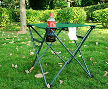 Multi-functional outdoor picnic table portable folding table table beach camping fishing field trip travel supplies