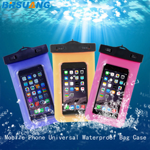 500pcs/lot Waterproof Diving Mobile Phone Bag Underwater Pouch Case For Samsung LG Google OPPO iPhone 4 5 5c 5s SE 6 6s 7 plus(China)