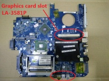 Laptop motherboard for Acer aspire 5520 5520G ICW50 L10 LA-3581P 100% tested good