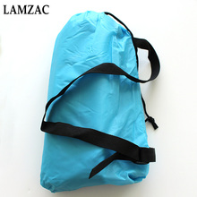 Lamzac Hangout Camping High-quality Inflatable Lounger Hammock Lay Bag Air Bed Sofa Lazy Bag Laybag Sleeping Bag 240cm*70cm