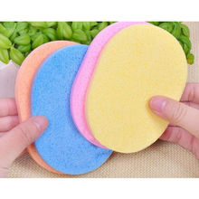 5pcs/Lot Sponge Cosmetic Puff Makeup Blending Wash Face Sponge Powder Puffs Seaweed Beauty Clean Tool(China)