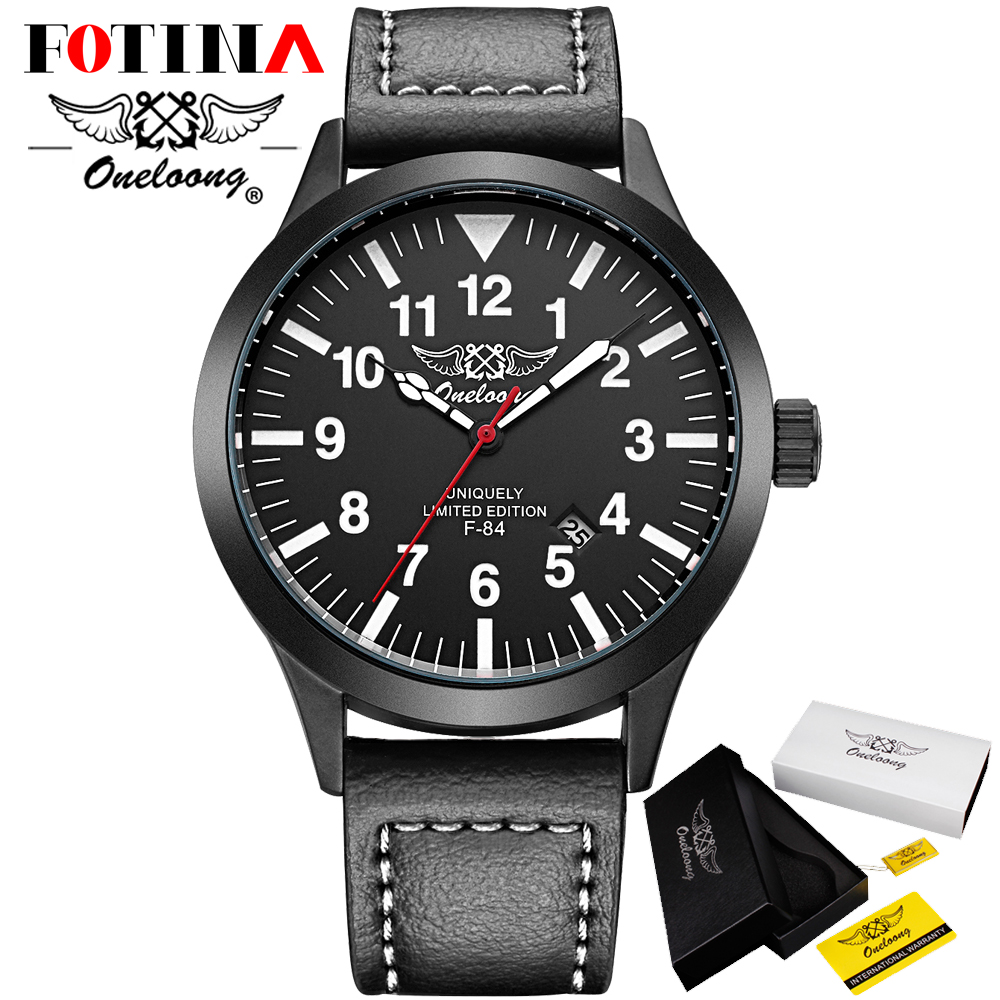 Fotina HK Brand ONELOONG Montre Homme Mens Watches Men Military Sport Luminous Wristwatch Leather Quartz Watch Relogio Masculino<br><br>Aliexpress