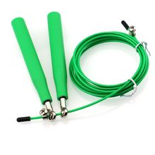 Steel Wire High Speed Skipping Sports Adjustable Jump Rope Crossfit Boxing Gym