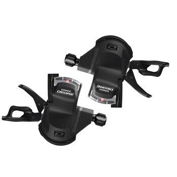 Shimano deore m610 sl 2x10 3x10 10 s velocidad shifter gatillo palanca izquierda y derecha con cable interior