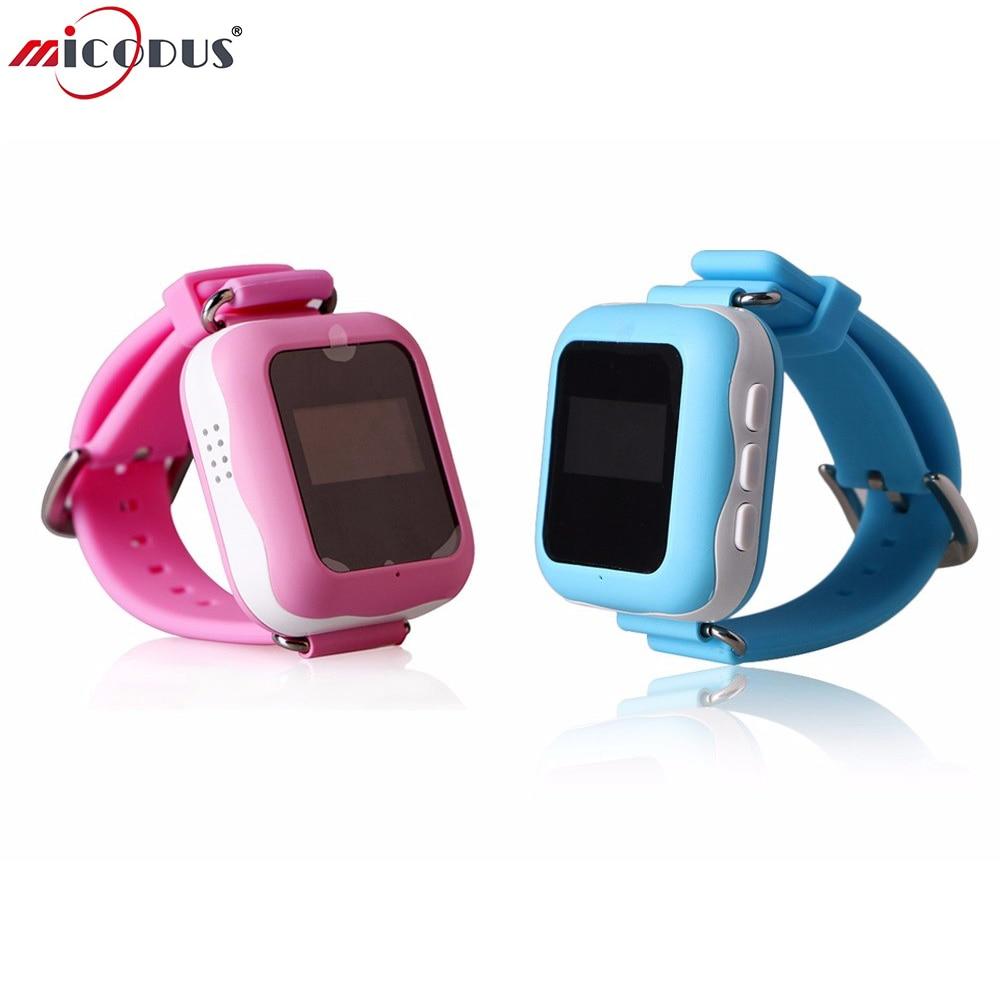 Children GPS Tracker Kids Smart Watch Phone DDX01 Two-way Communication WIFI LBS Location Anti-lost Lifetime Free App Tracking<br>