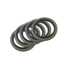6/8/10/12/14/16mm Bonded Washer Metal Rubber Oil Drain Plug Gasket Fit M6/M8/M10/M12/M14/M16 Combined Washer Sealing Ring(China)