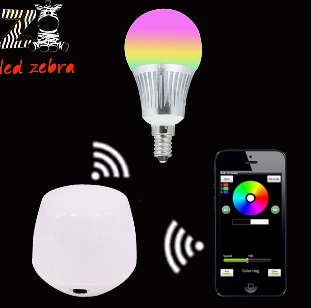 mi.light rgbw rgbww led bulb,E14 5w led lamp AC85-265v+2.4G smartphone wireless wifi controller app ios android for led bulb<br><br>Aliexpress