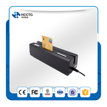 1MM Magnetic Head Credit Card NFC Card Reader Magnetic Stripe Card Reader Writer HCC80 With 10pcs Magnetic Cards(China)