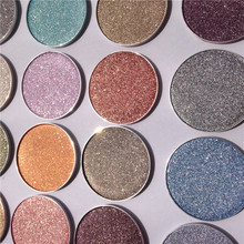 Professional Diamond EyeShadow Make Up Waterproof Shimmer Glitter Single pressed powder high Pigmented 60 shades by SPARSIFOLIA