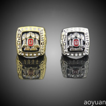 aoyuan Championship rings,2008 Ohio State Buckeyes football top ten world championship rings ,sports fans rings, men gift ring.