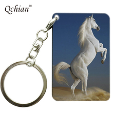 The perfect beautiful horse Series Printed HandBag and Backpack Ornaments Pendant Keyring Key Holder Pictures can be Customized(China)