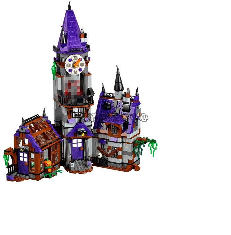 860pcs BL 10432 scooby doo Mystery Mansion Building Blocks scoobydoo shaggy Velma vampire toys compatible<br>