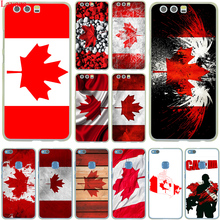 Canada flag toronto maple leafs Hard Case Cover for Huawei P10 P9 Lite Plus P8 Lite G7 & Honor 8 Lite 7 4C 4X