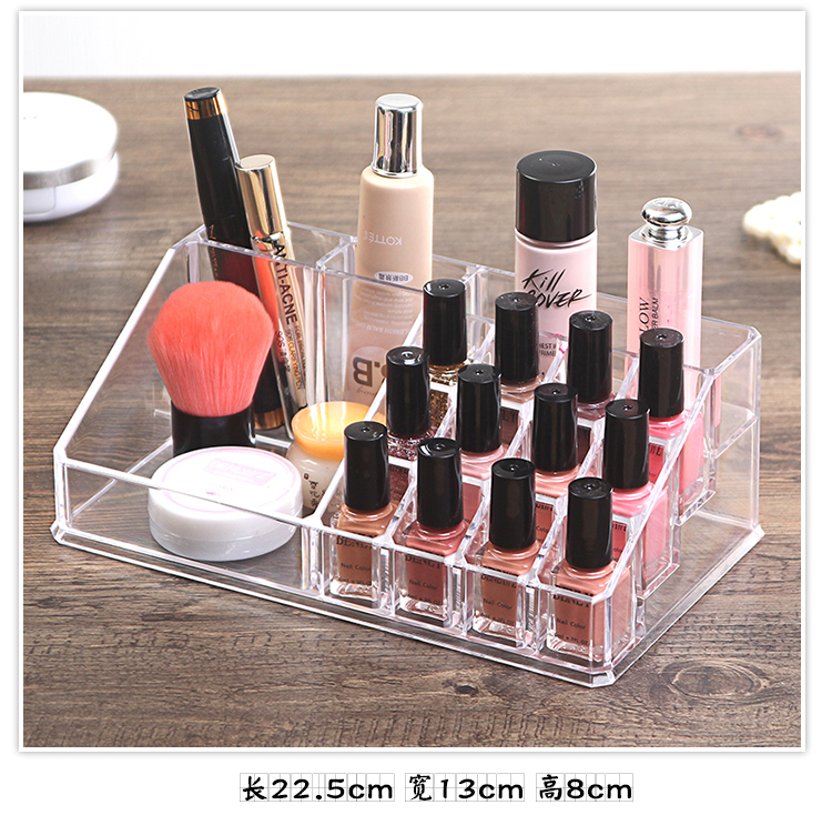 Organizador Hot Sale 2017 Acrylic Makeup Organizer Rangement Maquillage Crystal of Cosmetics Included In The of Home Storage (17)