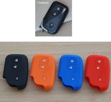 silicone rubber key fob protector cover case set for Lexus ES240 ES350 RX270 RX350 LX570 GX400 GX460 IS300 3 buttons romte skin