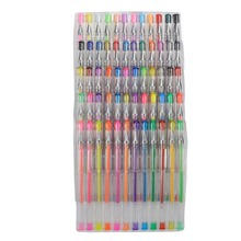 Children ABC Smart Color Art 60Pcs Gel Pens Set | Colors Included: Classic Glitter, Neon, Standard, Milky, Swirl & Metallic(China)