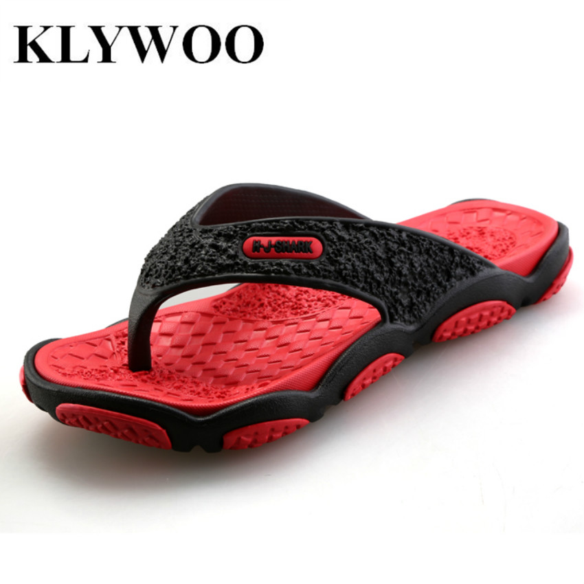 KLYWOO Fashion Summer Designer Flip Flops Men Casual Beach Shoes Platform Slip on Men Sandals Breathable Shoes Slippers Men<br><br>Aliexpress
