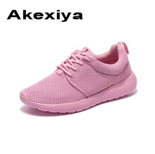 Akexiya New Men Summer Mesh Shoes Loafers lac-up Water shoes Walking lightweight Comfortable Breathable Men women runing shoes(China)