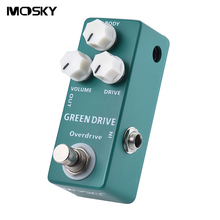 MOSKY MP-53 Green Drive Overdrive Mini Single Guitar Effect Pedal True Bypass Guitar Parts & Accessories